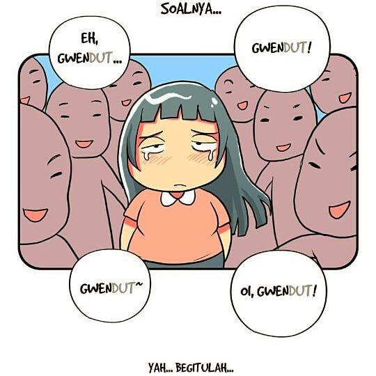 Emang Susah Kalo Nasib Jadi Orang Gendut Fatstory Gendut Kekinian Jakarta Indonesia Komik Emang Susah Kalo Nasib Jadi Orang Gendut Comics Mood Belly