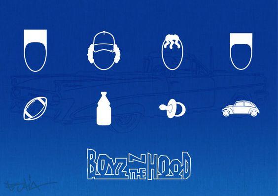 "Tribute to the film ""Boyz 'n the hood"" by eStiA"