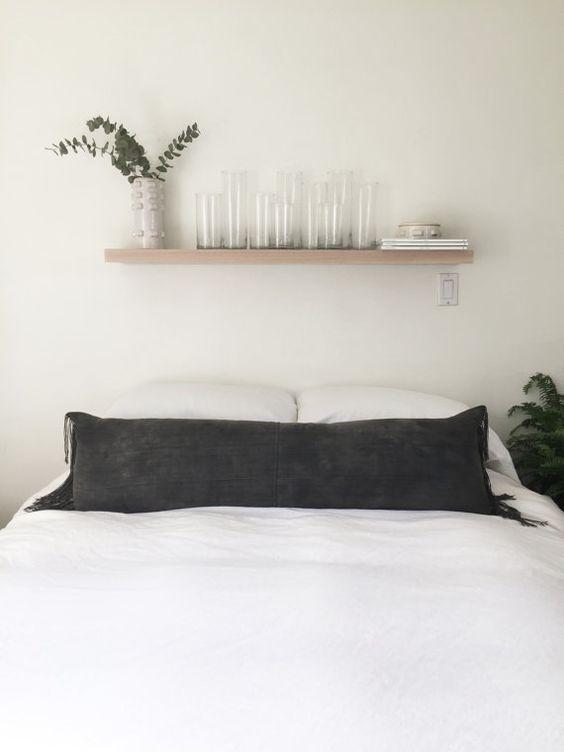 XL Vintage Dark Grey Moshi Lumbar Pillow *Insert Included