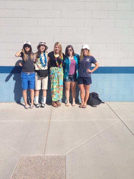 Beach Bum Day School Spirit | School Spirit Inspiration | Pinterest | Schools Beach Bum And ...