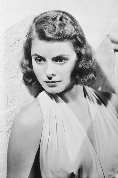 Frisuren 40er Jahre Damen Frisurentrends Hollywood Stars Ingrid Bergman 40er Frisuren