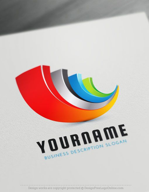 Abstract 3d Logo Maker Create Cool Logo Ideas Online Logo Design Free Logo Design Template Cool Logo
