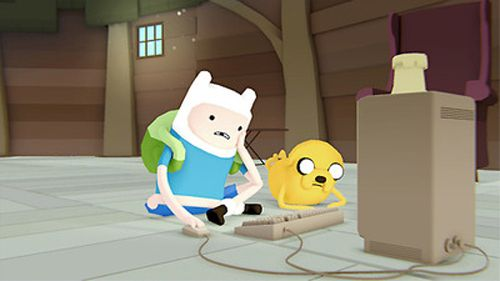 David O'Reilly: Adventure Time - http://animated-review.blogspot.co.uk/2013/04/david-oreilly-adventure-time.html