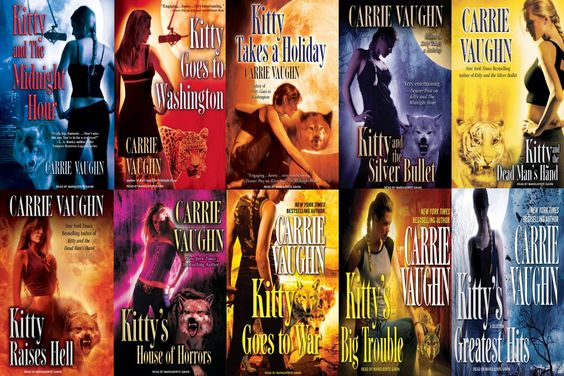 """""""Kitty Norville Series..."""" by Carrie Vaughn"""