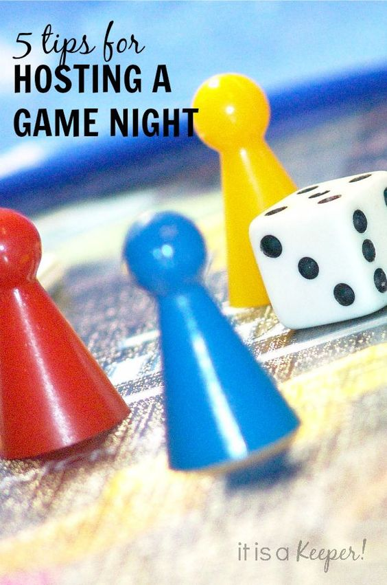 5 Tips for Hosting Game Night - It Is a Keeper
