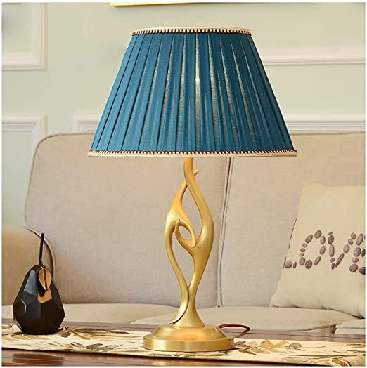 Hengtongwanda Table Lamp Living Room Table Lamp Bedroom Bedside Lamp Creative Romantic Warm Wedding Table Lamp R Retro Table Lamps Table Lamps For Bedroom Lamp