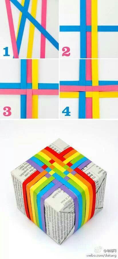 Idea para decorar el envoltorio de un regalo >.< :D