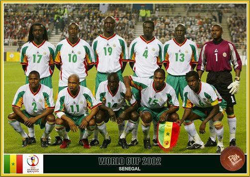 Fan Pictures 2002 Fifa World Cup South Korea Japan Senegal Team World Cup Senegal Fifa