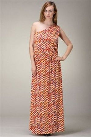ONE SHOULDER PRINT MAXI DRESS What a great Spring look for $35 Shipped