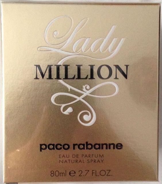 PACO RABANNE LADY MILLION 80ml Eau de Parfum Spray * NEW & SEALED