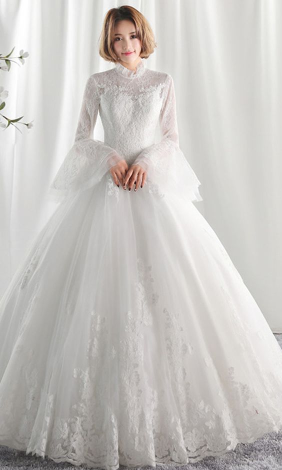 Delight the crowds in this unforgettable wedding gown