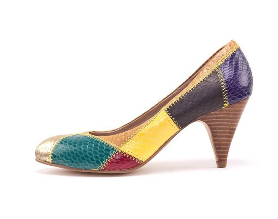 Pump Wedges Shoe Sapatos Femininos