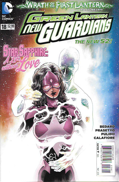 Green Lantern: New Guardians # 18 DC Comics The New 52!