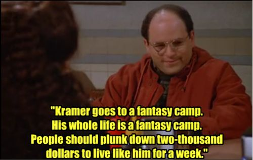 Seinfeld, Camps and Fantasy on Pinterest