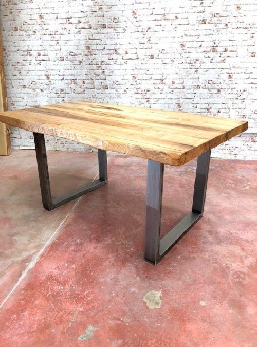 Offerte Tavoli Da Cucina.Tavolo Da Cucina Design In Legno Massello Rustico Nel 2019