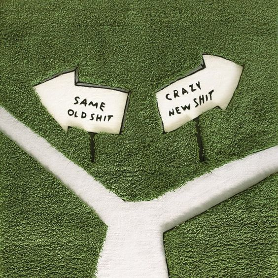 change qyour career Crazy New Sh*t Rug by Dan Golden #Crazy, #Design, #Rug, #Unique
