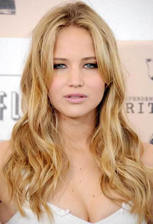 20 Gorgeous Actresses With Long Hairstyles 6 Jennifer Lawrence Long Blonde Hair Jenniferla Long Layered Haircuts Long Hair Styles Hair Color Light Brown