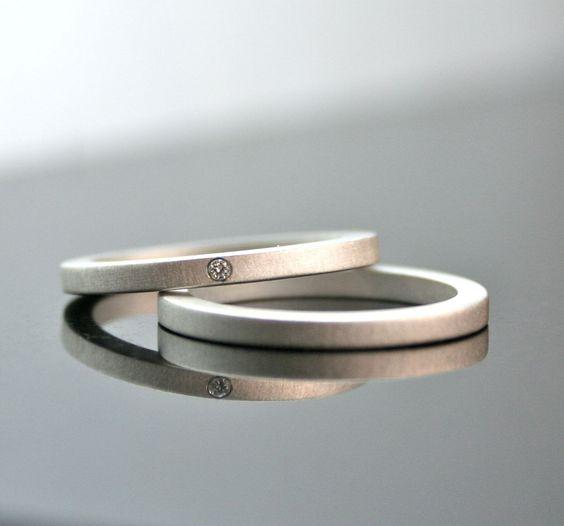 diamond engagement ring set simple wedding - Simple Wedding Ring