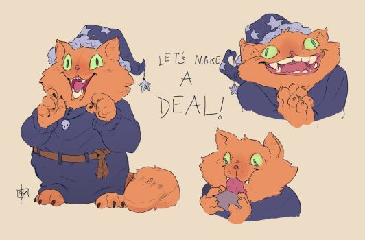 Garfield The Deals Warlock By Vincenzonova The Adventure Zone Adventure Zone Podcast Mcelroy Brothers