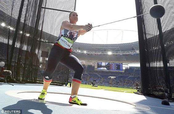 Hitchon launched the hammer out to 74.54 metres to move from sixth place to…