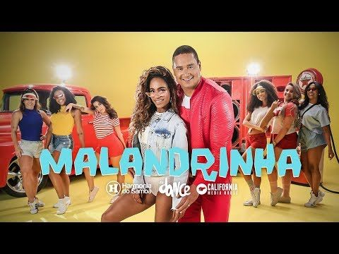 Harmonia Do Samba Malandrinha Clipe Oficial Youtube Samba