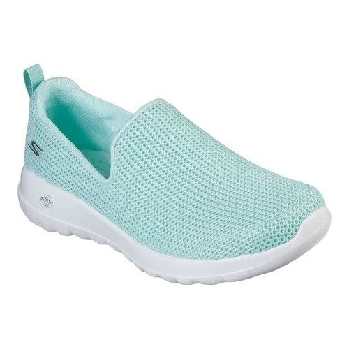 Skechers Gowalk Joy Centerpiece Slip On Walking Shoe Slip On Sneakers Black Slip On Sneakers Black Leather Shoes