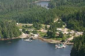 Naukati Bay, logging camp. Alaska