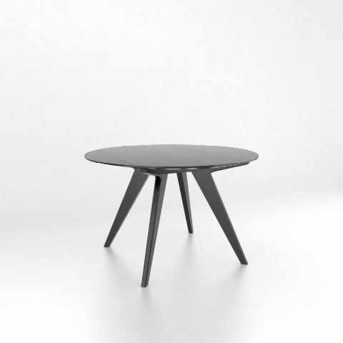 Downtown Table With Wood Top Mikaza Meubles Modernes Montreal Modern Furniture Ottawa Table Modern Furniture Modern Furniture Stores