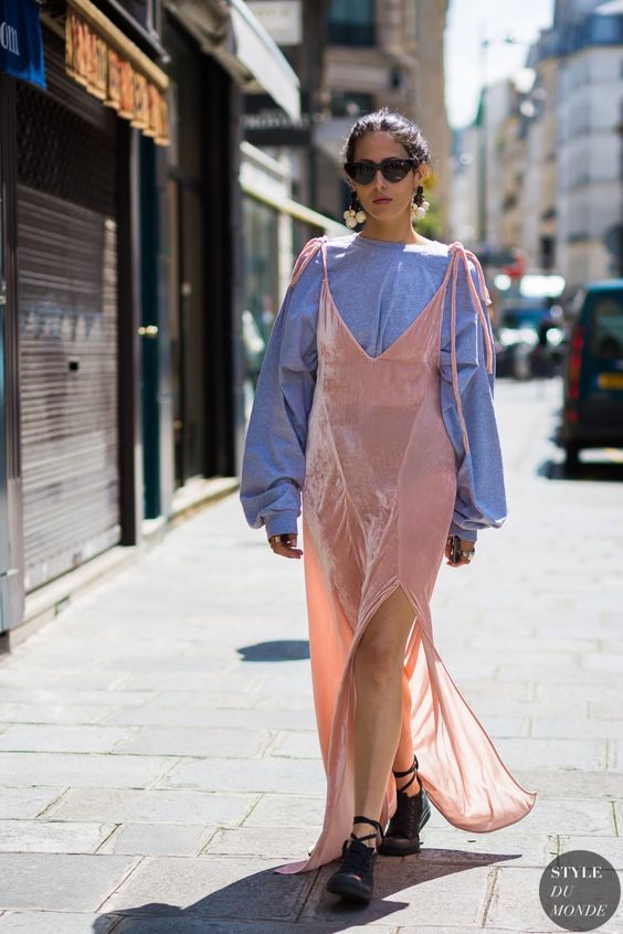Gilda Ambrosio Street Style Street Fashion Streetsnaps by STYLEDUMONDE Street Style Fashion Photography: