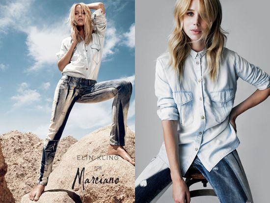 Guess presenta Elin Kling for Marciano - Tendenze donna - diModa - Il portale... di moda