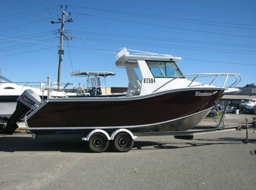 Nice - I love it! :D Wavedancer 7.5m Plate Ally Power Boat 2003