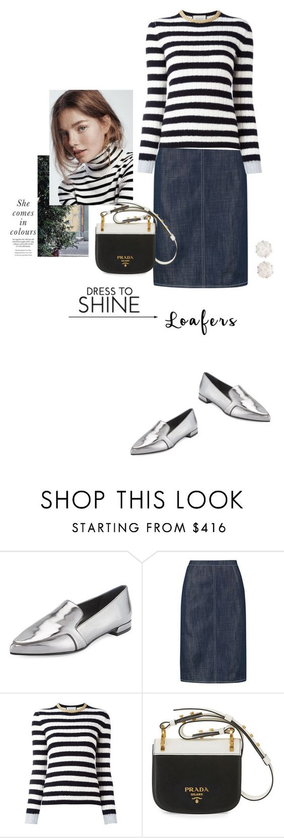 """""""Fall Footwear Trend:Shiny Loafers"""" by yukotange ❤ liked on Polyvore featuring Stuart Weitzman, Nina Ricci, Gucci, Prada, Chanel, loafers, polyvoreeditorial and polyvorecontest"""