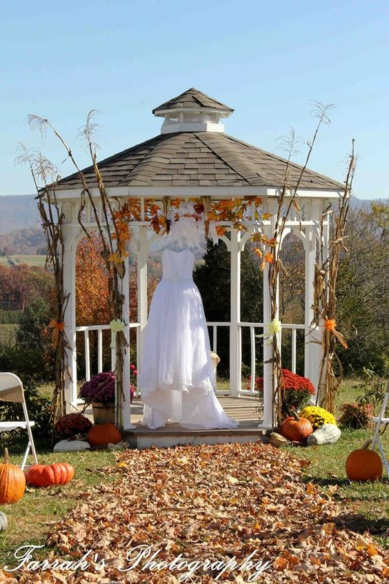 Beautiful Fall Wedding At The Colonial Estate Gazebo Www