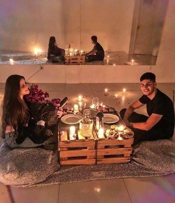 30++ Noche romantica en casa inspirations