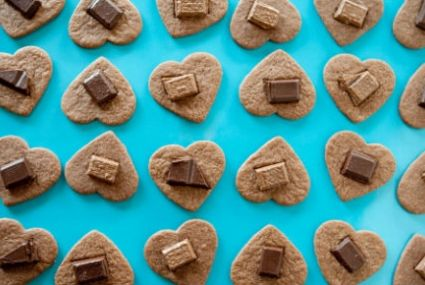 Heart-Shaped Chocolate Cookies | Whole Foods Market