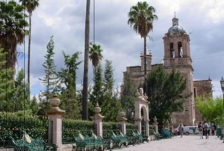 Templo de San Judas Tadeo en Villanueva, Zacatecas, considerado entre los más importantes dedicados al santo en México