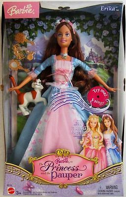 Barbie Doll as Erika Barbie as The Princess and The Pauper