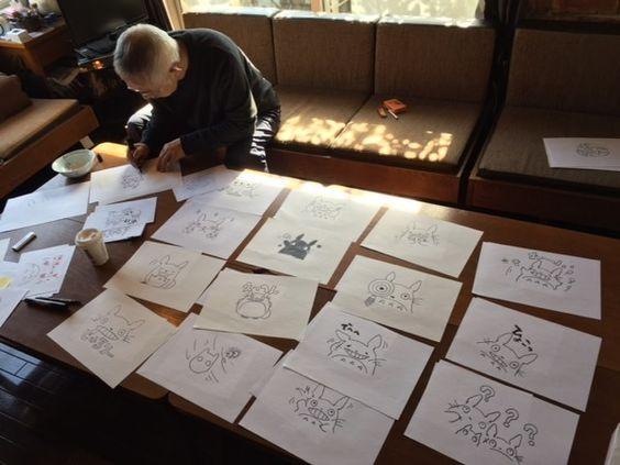 「宮崎駿よりトトロを描くの慣れている」鈴木敏夫プロデューサー描き下ろし『となりのトトロ』LINEスタンプが最高にかわいい