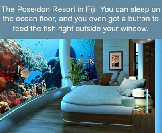 Hotel in Fiji-Ocean Floor
