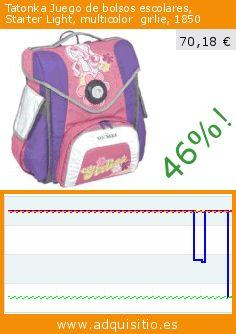 Tatonka Juego de bolsos escolares, Starter Light, multicolor  girlie, 1850 (Luggage). Baja 46%! Precio actual 70,18 €, el precio anterior fue de 130,00 €. https://www.adquisitio.es/tatonka/juego-bolsos-escolares-0