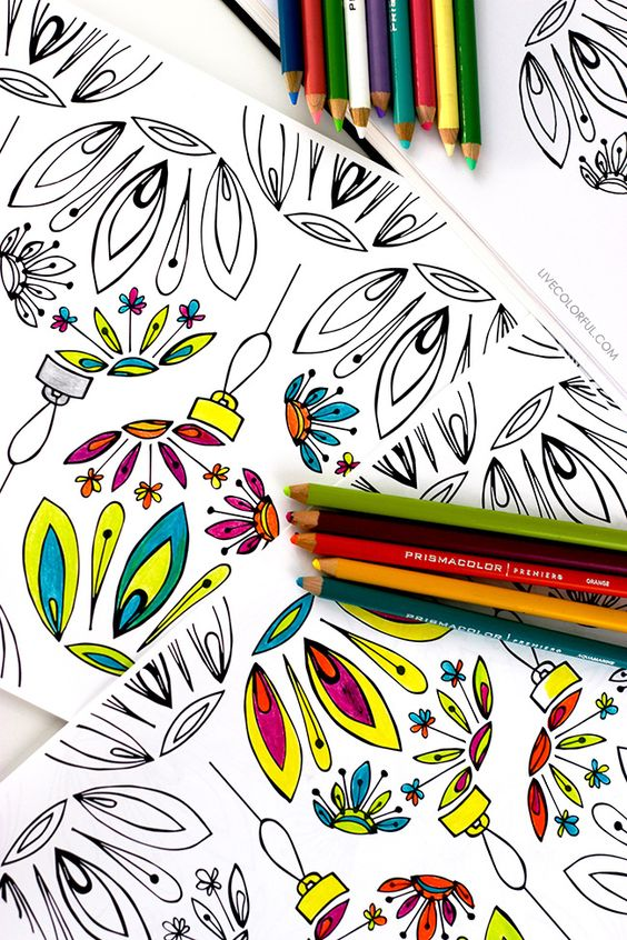 free printable coloring wrapping paper creative gifts and markers. Black Bedroom Furniture Sets. Home Design Ideas