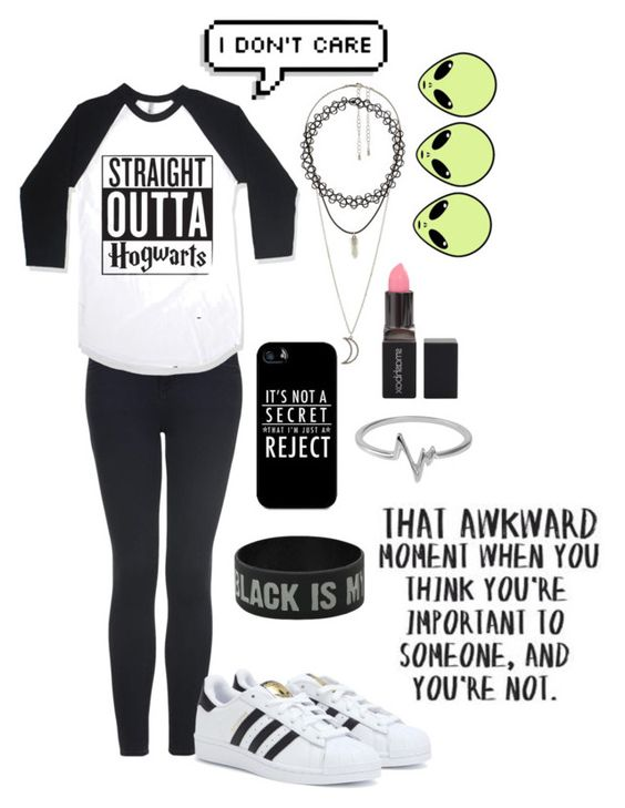 """""""☯☹♪"""" by lolmariaaa ❤ liked on Polyvore featuring Topshop, adidas, Charlotte Russe, Samsung, Smashbox, Jewel Exclusive and Love Quotes Scarves"""