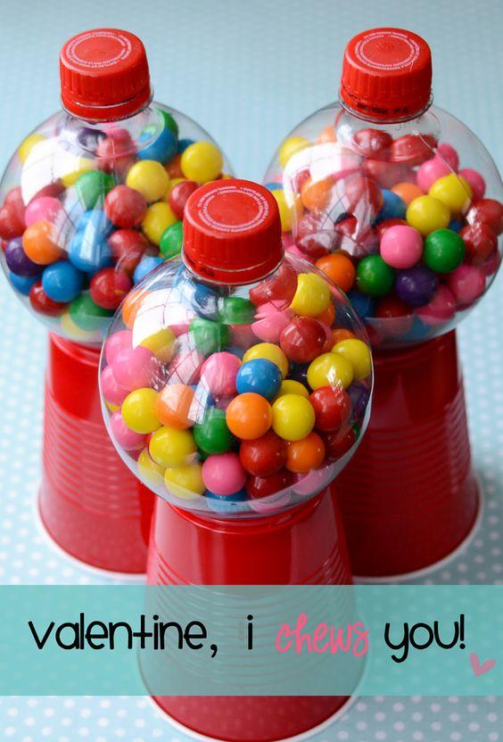 Homemade Bubble Gum machines!