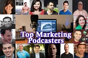 Made this person's list of the top 15 Marketing Podcasters - some great shows to listen to here