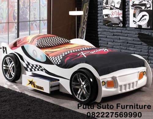 Jual Tempat Tidur Anak Mobil Mobilan Modern Ranjang Anak Motif Mobil Tempat Tidur Anak Kamar Tidur Anak Laki Laki Tempat Tidur