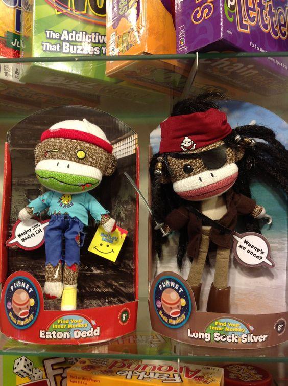... market 7 18 13 july market and more sock monkeys pirates monkey sock