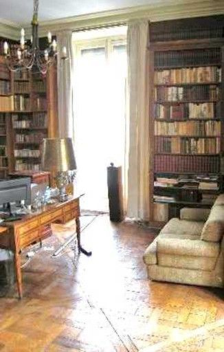 #portdeclignancourt  Desk. Antique Books. Bare Floors