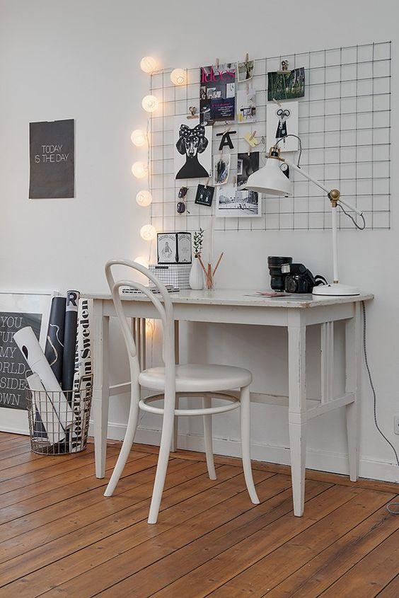 Nice workspace.: