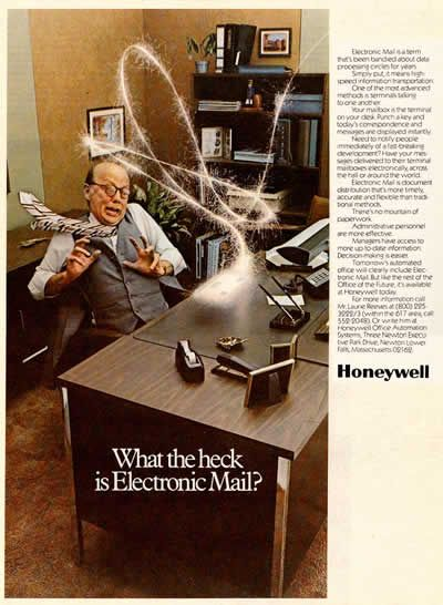 """HoneyWell - """"What the Heck is Electronic Mail"""" (1981)"""