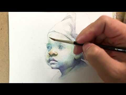 Watercolor Painting Demonstration On The Spot Watercolor Tips